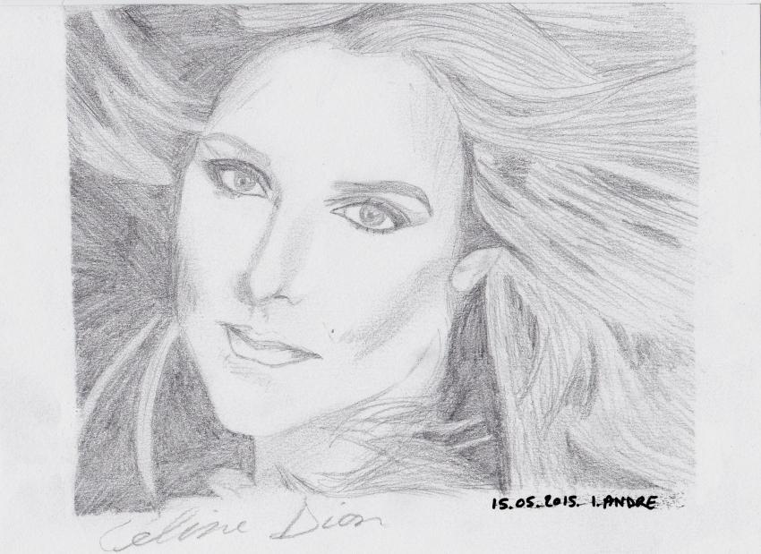 Céline Dion by Isagination